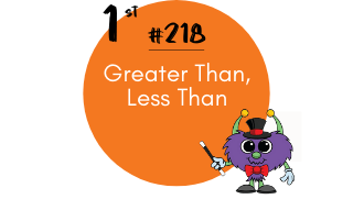 218-Greater Than, Less Than
