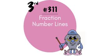 311 – Fraction Number Lines
